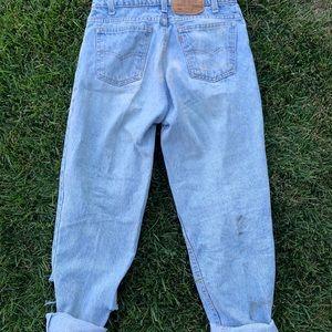 Vintage Levi's boyfriend jeans